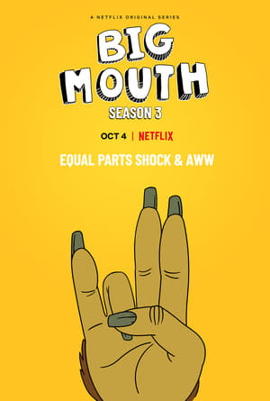 Big Mouth 3ª Temporada Torrent, Download, movie, filme, poster