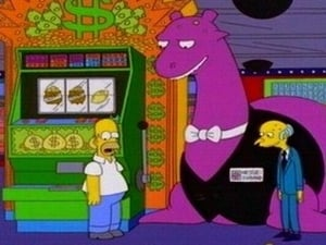 The Simpsons Season 10 :Episode 21  Monty Can't Buy Me Love