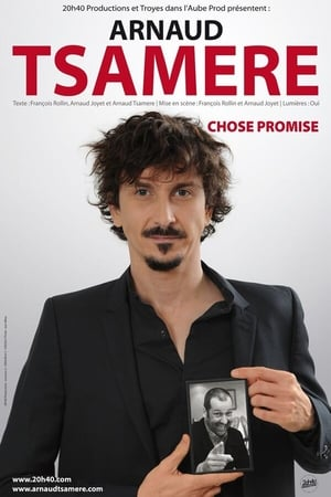 Arnaud Tsamère - Chose Promise-Azwaad Movie Database