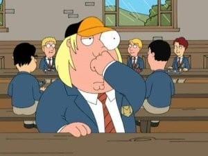 Family Guy Season 5 :Episode 16  No Chris Left Behind