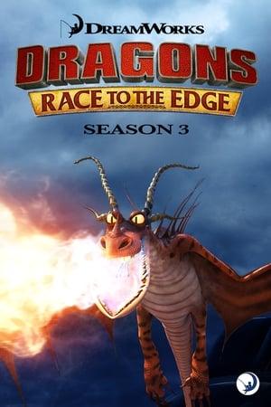 Dragões: Corrida até o Limite 3ª Temporada Torrent, Download, movie, filme, poster