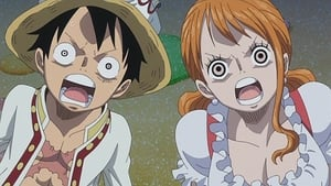 One Piece Season 18 :Episode 797  A Top Officer! The Sweet 3 General Cracker Appears!