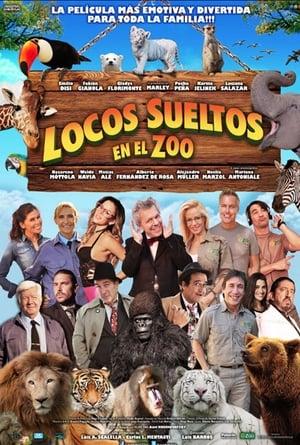 Locos sueltos en el zoo poster