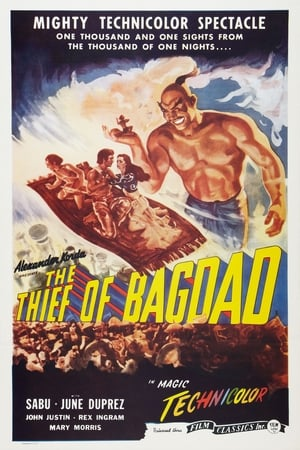 Poster The Thief of Bagdad (1940)