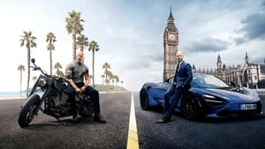 Graphic background for Hobbs and Shaw IMAX