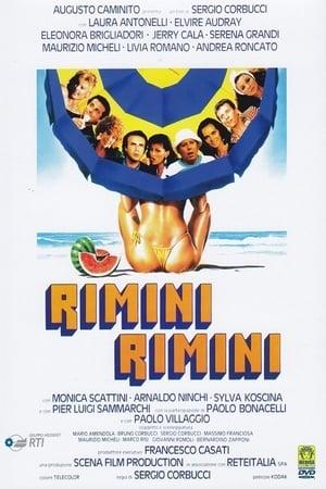 Filmposter Rimini Rimini