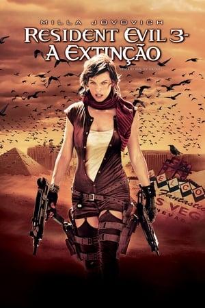 Resident Evil 3: A Extinção Torrent, Download, movie, filme, poster