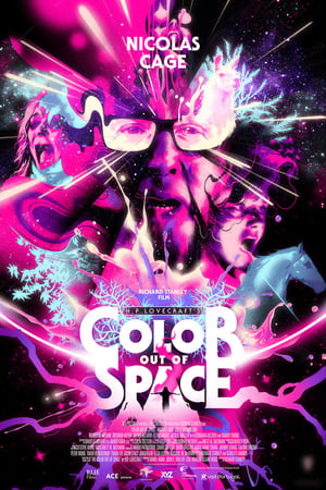 Poster Color Out of Space (2020)