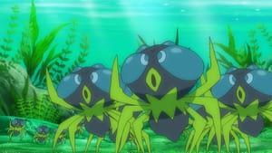 Pokémon Season 21 :Episode 28  Dewpider Ascending!