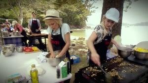 My Kitchen Rules Season 6 :Episode 25  Offsite Challenge: Campfire Challenge