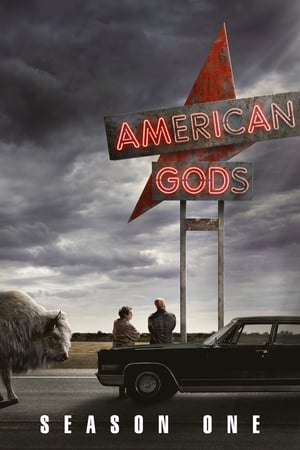 American Gods 1ª Temporada Torrent, Download, movie, filme, poster