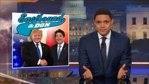The Daily Show with Trevor Noah - Jeff Flake & Tig Notaro