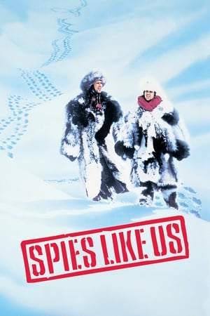Poster Spies Like Us (1985)