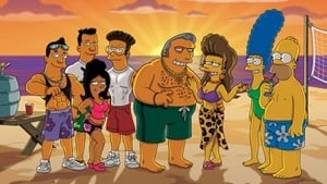 Episodio TV Online Los Simpson HD Temporada 22 E19 The Real Housewives of Fat Tony