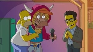 The Simpsons Season 32 :Episode 15  Do PizzaBots Dream of Electric Guitars?