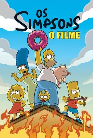 Os Simpsons: O Filme Torrent, Download, movie, filme, poster
