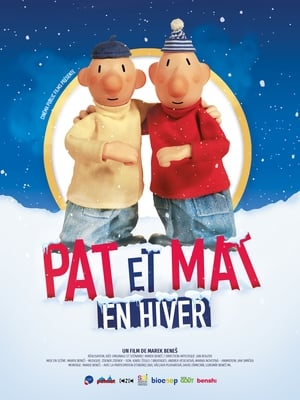 Image Pat et Mat en hiver