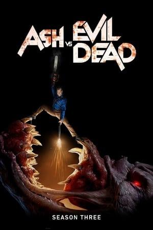 Ash vs Evil Dead 3ª Temporada Torrent, Download, movie, filme, poster