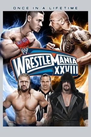 Poster WWE WrestleMania XXVIII (2012)