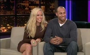 Kendra Wilkinson and Hank Baskett - Guest host Ross Mathews
