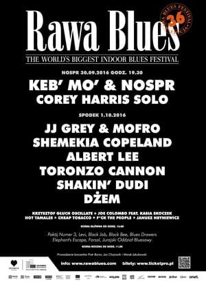 Keb' Mo' & NOSPR - Rawa Blues Festival