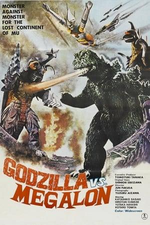 poster Godzilla vs. Megalon