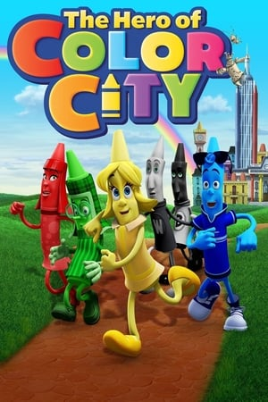 Poster The Hero of Color City (2014)
