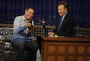 Episodio TV Online Late Night with Conan O'Brien HD Temporada 16 E41 Episodio 41