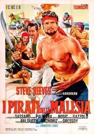 Capa do filme I pirati della Malesia