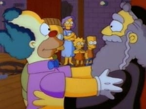 The Simpsons Season 3 : Like Father, Like Clown