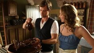 poster Herz aus Schokolade