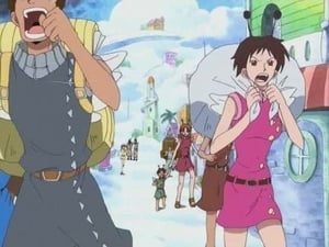 Luffy Falls! Eneru's Judgement and Nami's Wish!