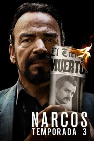 Narcos 3ª Temporada Torrent, Download, movie, filme, poster