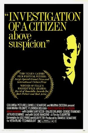 Watch Investigation of a Citizen Above Suspicion Full Movie