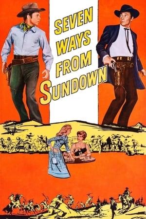 Seven Ways from Sundown – Șapte drumuri de la Apus (1960)