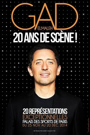 Gad Elmaleh - 20 ans de scène !-Azwaad Movie Database