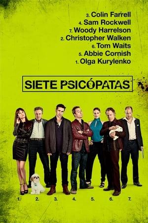 VER Siete psicópatas (2012) Online Gratis HD