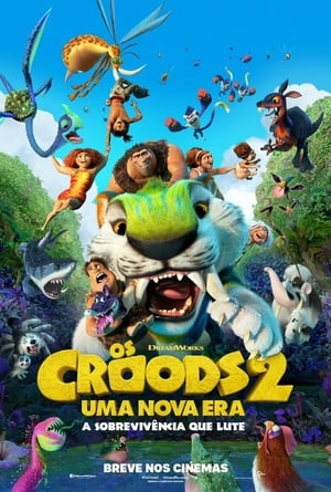 Os Croods 2: Uma Nova Era Torrent, Download, movie, filme, poster