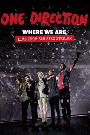 One Direction: Where We Are – The Concert Film poster
