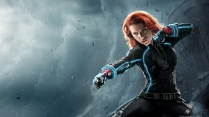 Graphic background for Black Widow in IMAX