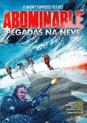 Pegadas na Neve - Poster