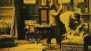 French movie from 1912: Godasse Fumiste