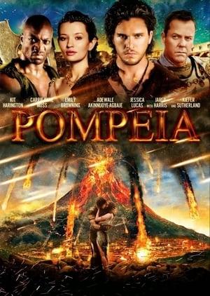 Cubierta de la película Pompeya