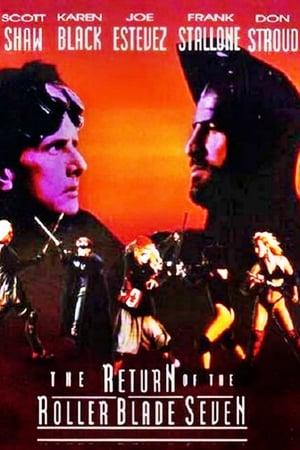 Poster Return of the Roller Blade Seven (1993)
