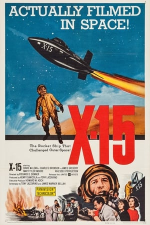 Poster X-15 (1961)