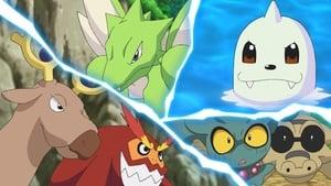 Pokémon Season 23 :Episode 23  Massive Panic! Sakuragi Park!!