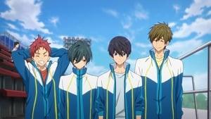 poster High☆Speed!: Free! Starting Days