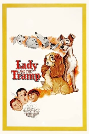 Poster Lady and the Tramp (1955)