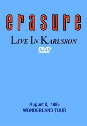 Erasure: Live at Karlsson poster