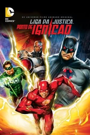 Liga da Justiça: Ponto de Ignição - Poster